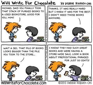 Mimi's Book Purge