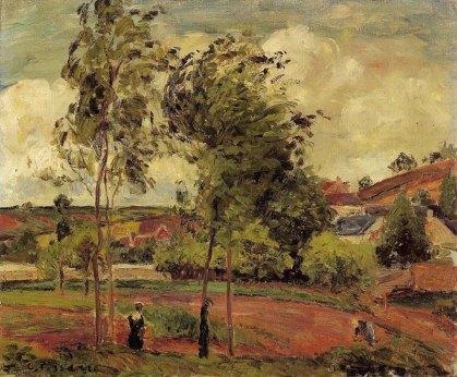by Camille Pissarro