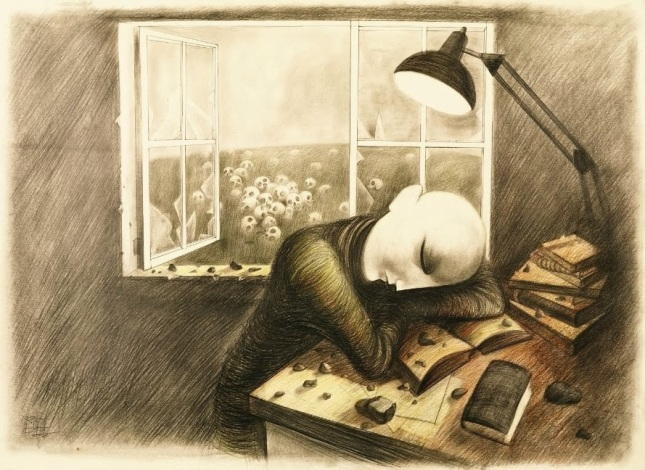 The Poet's Sleep by Chang Houg Ahn